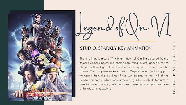 Chinese Anime 2020 Qin's Moon Season 6 The Legend of Qin VI